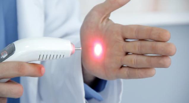 Feixe de laser